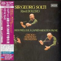 SIR GEORG SOLTI-DEBUSSY: LA MER / RAVEL...-JAPAN MINI LP SHM-SACD Ltd/Ed K25