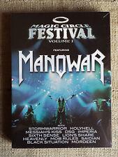Magic Circle Festival Volume I Manowar - 2 DVD  nuovo sigillato