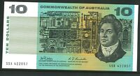 Australia Virtually CFu $10 SSX422057 Phillips Randall Paper Banknote issue r303