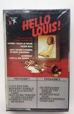 Hello Louis - Immortal Louis Armstrong Super Rare BRAND NEW Sealed Cassette Tape