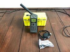 Motorola Iridium 9505 MS1-20 Satellite Phone GOOD w/ Hard Case Bundle WORLD SHIP