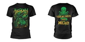 ALESTORM- TRENCHES AND MEAD Official T Shirt Mens Licensed Merch New