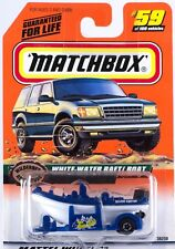 Matchbox MB 59 White Water Raft Boat Mint On Card 1999