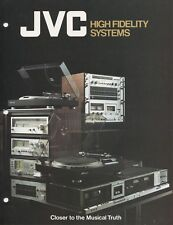 JVC Rack Systems Original Brochure 1975