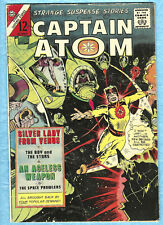Strange Suspence Stories # 77 , 1965 , Captain Atom, Silver Lady from Venus,