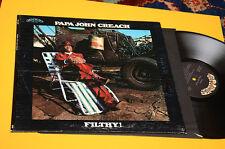PAPA JOHN CREACH LP FILTHY 1°ST ORIG USA 1972 EX+ GATEFOLD COVER