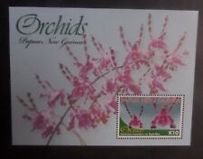 Papua New Guinea 2010 Orchid Flowers MS1437 MNH UM unmounted