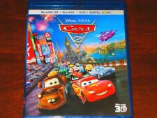 Disney Cars 2 3D - Computer Animated Action-Adventure Film on Blu-Ray 3D (2011)