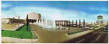 Caesars Palace Fountain Long Postcard Harry Belafonte Ritz Bros. 1967 Las Vegas