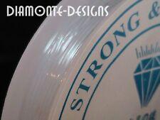 1 x 5m rouleau clair fil stretch élastique 1mm perles chaîne KIDS CRAFT