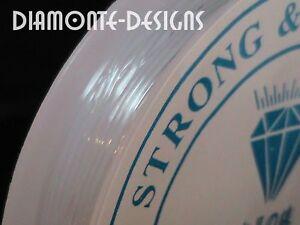 1 x 5m Clear Roll Elastic Stretch Thread 1mm Beading String Kids Craft