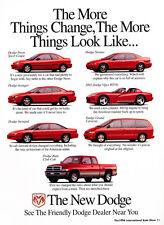 1996 Dodge Neon Avenger Viper Ram - Classic Car Advertisement Print Ad J72