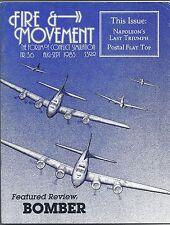 FIRE & MOVEMENT MAGAZINE #36 BOMBER NAPOLEON'S LAST TRIUMPH 1983