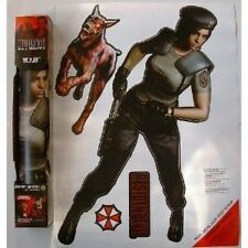 Resident Evil Wall Graffix 2ft+ tall JILL VALENTINE 4 piece set Fathead