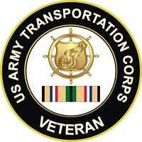 "Army Transportation Corps Gulf War / Desert Storm Veteran 5.5"" Decal / Sticker"