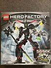 Lego 6203 Black Phantom Hero Factory Sealed. Damaged Box