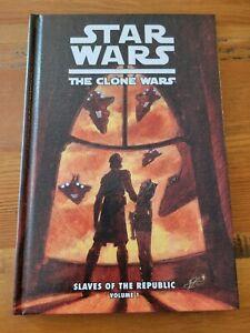 Star Wars: The Clone Wars Volume 1 HC, Slaves of the Republic 1st Ahsoka Tano 🔥