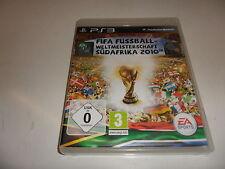 PlayStation 3  PS 3  FIFA Fussball Weltmeisterschaft 2010 Südafrika