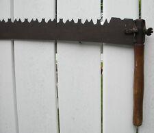 "Vintage 66"" 2 Man Crosscut Lumberjack Saw (HS)"