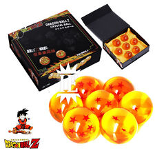 DRAGON BALL SET 7 SFERE DEL DRAGO COFANETTO FIGURE dragonball z sfera stelle new