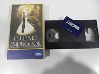 Der Letzte Kaiser VHS Sammler Ausgabe Spanisch Bernardo Bertolucci