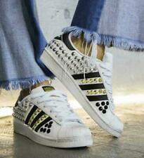 Scarpe da ginnastica bianche adidas superstar per donna