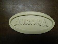 Aurora resin model display plaque. Free Shipping.