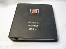 RARE Oliver Industrial Equipment Binder with White Technical Service Manuals