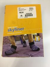 "Ruffwear Skyliner Bark'n Boots Everyday Paw Protection Dog Boots Large 3"" Gray"