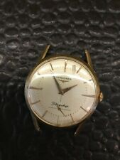 Vintage 18kt Flagship Longines Mens Watch