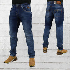 Rusty Neal Herren Jeans Elsa dunkelblau Jeanshose Männer Straight Fit