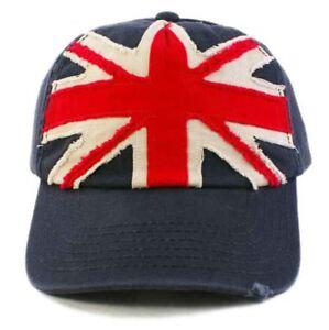 Great Britain Flag Design - Union Jack Baseball Cap