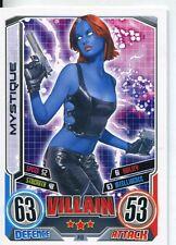 Marvel Hero Attax Series 2 Base Card #149 Mystique