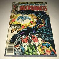 The Micronauts #8 Marvel 1st App CAPTAIN UNIVERSE Comic Book Vintage Hasbro Toy