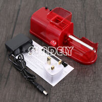 Red Plug Easy Electric Automatic Cigarette Injector Machine Tobacco/Maker Roller