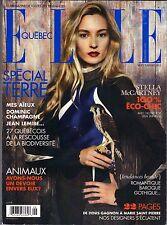 Elle Quebec September 2012, Stella McCartney