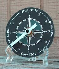 Tide Clock - Atlantic Coast High & Low Tidal Time - Dark Compass - CD - Unique