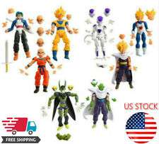 8Pcs/Set Dragonball Z Dragon Ball DBZ Joint Movable Action Figures Super Saiyan