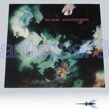 """THE CURE """"DISINTEGRATION"""" RARE LP FICTION 1989 MINT"""