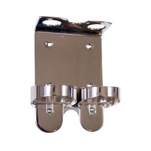 WALL MOUNT Dispenser Chrome Holder Liquid Soap Shampoo 300ml for Molton Brown