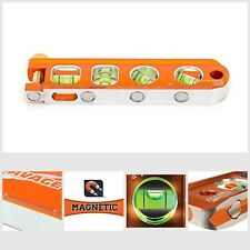 Magnetic Torpedo Level 6 Inch Ultimate Accuracy Laser Etching Anodized Finish