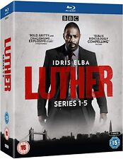 LUTHER Series Seasons 1-5 Blu-Ray Set NEW (Please Read Full Description)
