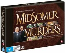 Midsomer Murders: Season 1 2 3 4 (Limited Edition) NEW DVD (Region 4 Australia)