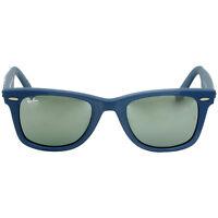 Ray Ban Acetate Frame Green Lens Unisex Sunglasses RB2140F