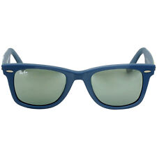 Ray-Ban Wayfarer 52 mm Camo Blue Fabric Frame Sunglasses RB2140F