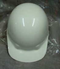New listing Fibre Metal Hard Hat Helmet Cap ~ Made in Usa ~ White ~ 6 3/4 to 8