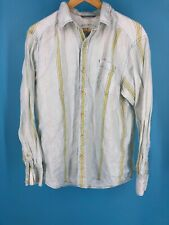 Tommy Bahama Mens Blue Green Button Front Relax Long Sleeve Shirt (A3)