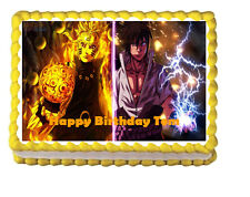 Naruto Edible Frosting Party Cake Image Decoration Topper Sheet