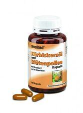 200 Kürbiskernöl + Blütenpollen Kapseln (2 Dosen) Revomed, Vitamine B1,2,3,6,12