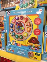 Hey Duggee Wooden Clock. FREE POSTAGE REDUCED PRICE